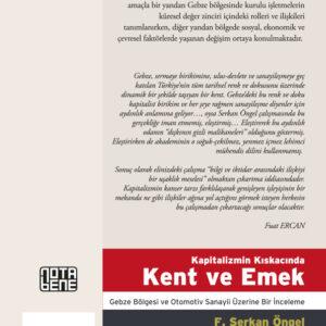 Kapitalizmin Kıskacında Kent ve Emek - Gebze Bölgesi ve Otomotiv Sanayi Üzerine Bir İnceleme (TÜKENDİ)