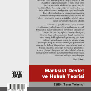 Marksist Devlet Ve Hukuk Teorisi