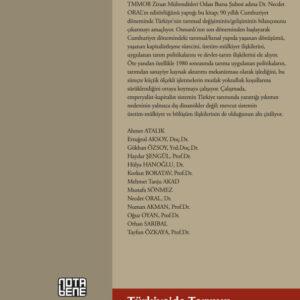 Türkiye'de Tarımın Ekonomi Politiği 1923-2013 (TÜKENDİ)