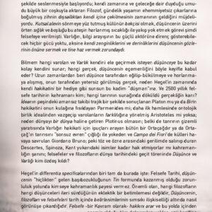 FELSEFE TARİHİ - 1. CİLT: THALES'DEN PLATON'A GREK FELSEFESİ