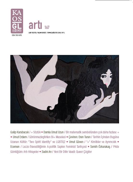 Kaos GL Dergisi Sayı 167 - ARTI